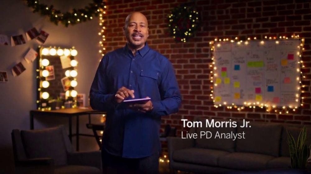 Rakuten TV Commercial, 'A&E: Holiday Shopping' Featuring Tom Morris Jr.