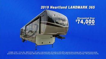 La Mesa RV TV Spot, 'Company Wide: 2019 Heartland Landmark 365' - Thumbnail 7