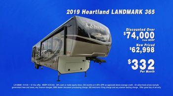 La Mesa RV TV Spot, 'Company Wide: 2019 Heartland Landmark 365' - Thumbnail 9