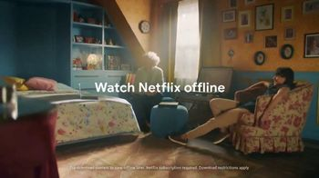 Google Chromebook TV Spot, 'Switch to Chromebook: Watch Netflix Offline'