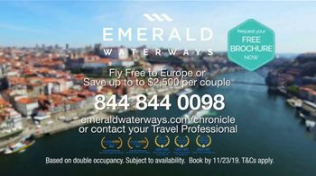 Emerald Waterways River Cruise Sale TV Spot, 'Sixteen Hand-Crafted Itineraries' - Thumbnail 10