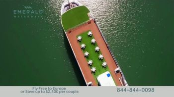 Emerald Waterways River Cruise Sale TV Spot, 'Sixteen Hand-Crafted Itineraries' - Thumbnail 2