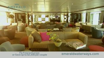 Emerald Waterways River Cruise Sale TV Spot, 'Sixteen Hand-Crafted Itineraries' - Thumbnail 3