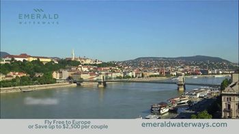 Emerald Waterways River Cruise Sale TV Spot, 'Sixteen Hand-Crafted Itineraries' - Thumbnail 5