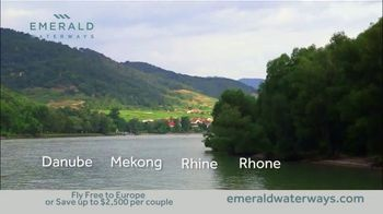 Emerald Waterways River Cruise Sale TV Spot, 'Sixteen Hand-Crafted Itineraries' - Thumbnail 6