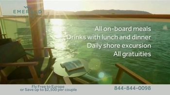 Emerald Waterways River Cruise Sale TV Spot, 'Sixteen Hand-Crafted Itineraries' - Thumbnail 7