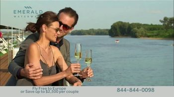 Emerald Waterways River Cruise Sale TV Spot, 'Sixteen Hand-Crafted Itineraries' - Thumbnail 8