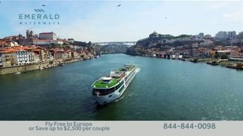 Emerald Waterways River Cruise Sale TV Spot, 'Sixteen Hand-Crafted Itineraries' - Thumbnail 9