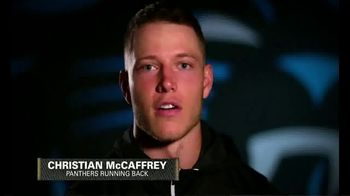 USAA TV Spot, 'Shout Out' Featuring Christian McCaffrey - 7 commercial airings