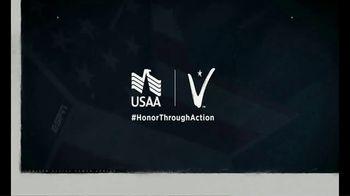 USAA TV Spot, 'Shout Out' Featuring Christian McCaffrey - Thumbnail 4