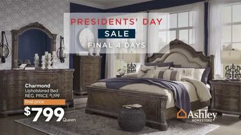 Ashley HomeStore Presidents Day Sale TV Spot, 'Final Four Days: 25%' Song by Midnight Riot - Thumbnail 2