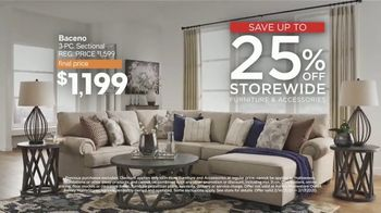 Ashley HomeStore Presidents Day Sale TV Spot, 'Final Four Days: 25%' Song by Midnight Riot - Thumbnail 4