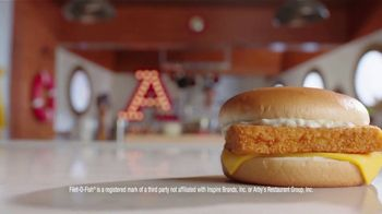 Arby's 2 for $6 Fish Sandwiches TV Spot, 'Versus Filet-O-Fish' Song by YOGI - Thumbnail 3