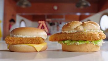 Arby's 2 for $6 Fish Sandwiches TV Spot, 'Versus Filet-O-Fish' Song by YOGI