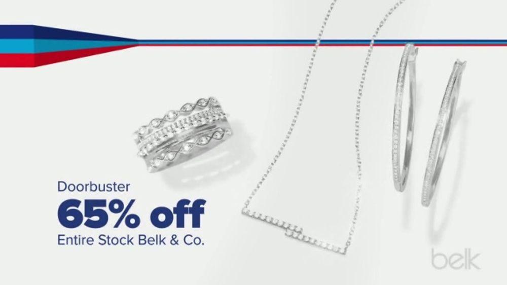 Belk Presidents Day Sale TV Commercial, 'Jewelry and Dresswear'