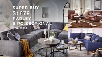 Macy's Presidents Day Sale TV Spot, 'Super Buys: Furniture and Beds' - Thumbnail 3