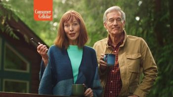 Consumer Cellular TV Spot, 'Cabin: Switch and Get $50' - Thumbnail 4