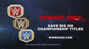 WWE Shop TV Spot, 'Join the Universe: Championship Title Savings' Song by Krissie Karlsson - Thumbnail 8