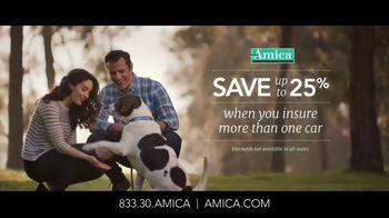 Amica Mutual Insurance Company TV Spot, 'Rescue Dog'