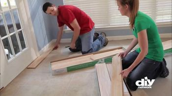 Lumber Liquidators TV Spot, 'DIY Network: New Wood Floor' - Thumbnail 5
