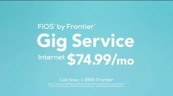 Frontier Communications Gig Service TV Spot, 'Speed Freaks: Everything' - Thumbnail 10
