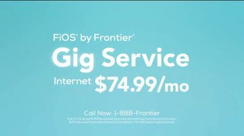 Frontier Communications Gig Service TV Spot, 'Speed Freaks: Everything' - Thumbnail 9
