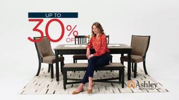 Ashley HomeStore Presidents Day Sale TV Spot, 'Dining Table, Sofa' Song by Midnight Riot - Thumbnail 4