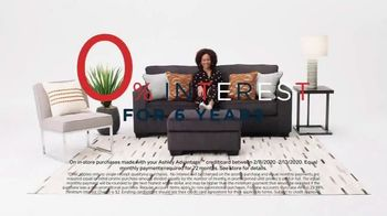 Ashley HomeStore Presidents Day Sale TV Spot, 'Dining Table, Sofa' Song by Midnight Riot - Thumbnail 7