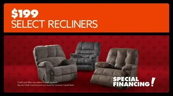 Big Lots Presidents 3-Day Sale TV Spot, 'Recliners' - Thumbnail 5