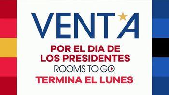 Rooms to Go Venta por el Día de los Presidentes TV Spot, 'Cupones' [Spanish] - Thumbnail 2