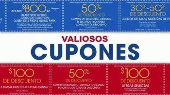 Rooms to Go Venta por el Día de los Presidentes TV Spot, 'Cupones' [Spanish] - Thumbnail 3