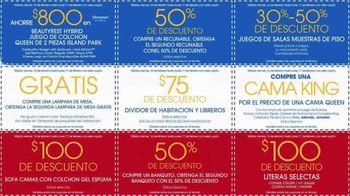 Rooms to Go Venta por el Día de los Presidentes TV Spot, 'Cupones' [Spanish] - Thumbnail 6