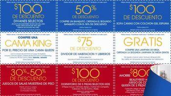 Rooms to Go Venta por el Día de los Presidentes TV Spot, 'Cupones' [Spanish] - Thumbnail 7