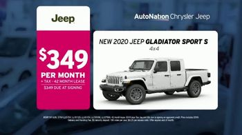 AutoNation Weekend of Wow TV Spot, 'Priced to Wow: 2020 Jeep Gladiator' - Thumbnail 5