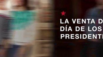 Macy's La Venta del Día de los Presidentes TV Spot, 'Levi's y seccional' [Spanish]