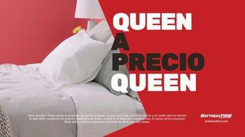 Mattress Firm Venta del Día de los Presidentes TV Spot, 'Base gratis' [Spanish] - Thumbnail 4