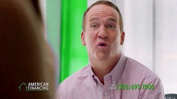 American Financing TV Spot, 'Every Step' Featuring Peyton Manning - Thumbnail 4