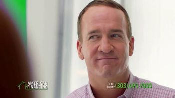 American Financing TV Spot, 'Every Step' Featuring Peyton Manning - Thumbnail 5