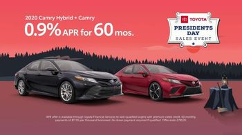 Toyota Presidents Day Sales Event TV Spot, 'Decreed: Camry' [T2] - Thumbnail 4