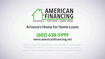 American Financing TV Spot, 'Don't Be That Homeowner, Refinance Now' - Thumbnail 9