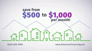 American Financing TV Spot, 'Don't Be That Homeowner, Refinance Now' - Thumbnail 4
