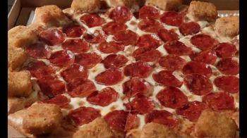 Pizza Hut Mozzarella Poppers Pizza TV Spot, 'The Ultimate 2-for-1'
