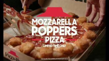 Pizza Hut Mozzarella Poppers Pizza TV Spot, 'The Ultimate 2-for-1' - Thumbnail 6