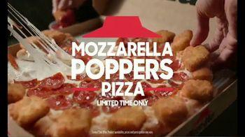 Pizza Hut Mozzarella Poppers Pizza TV Spot, 'The Ultimate 2-for-1' - Thumbnail 7