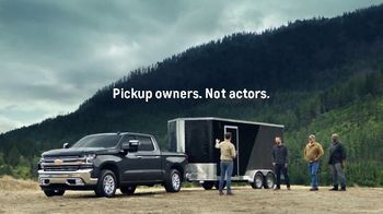 Chevrolet Presidents Day Event TV Spot, 'Invisible Trailer' [T2]
