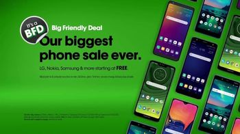 Cricket Wireless Big Friendly Deal TV Spot, 'Hiyeeee' - Thumbnail 9