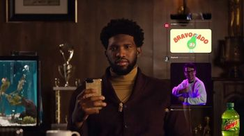 Mountain Dew TV Spot. \'The Joel Embiid Deserves Better Reactions GIF Collection\'