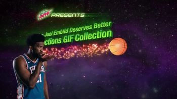 Mountain Dew TV Spot. 'The Joel Embiid Deserves Better Reactions GIF Collection' - Thumbnail 5