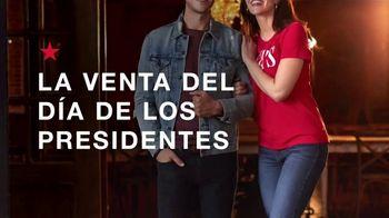 Macy's La Venta del Día de los Presidentes TV Spot, 'Abrigos, botas y juegos de sábanas' [Spanish] - Thumbnail 1