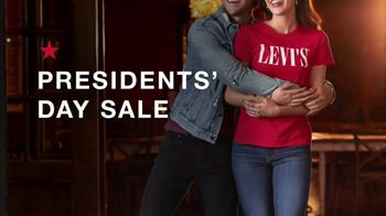 Macy's Presidents Day Sale TV Spot, 'Extra 20%, Levi's and Sectional' - Thumbnail 2